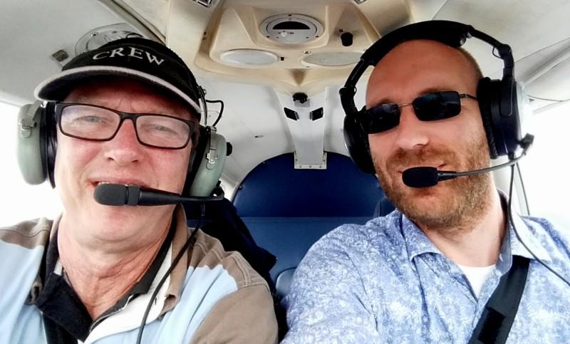 Len Nordhorn tweedaagse sander en ton vfr pilots we flying
